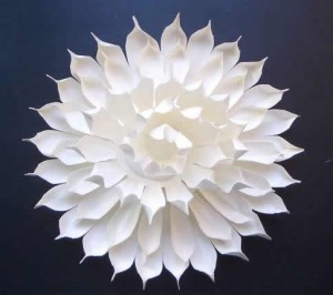 Kirigami Lotus Flower Pattern-1